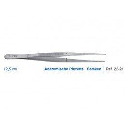 22-21 Пинцет анатомический Semken, 12,5 см
