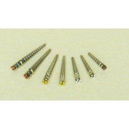 Штифты титан конические 0.8мм №1 (008S) (уп 25шт) сиреневые, Форма