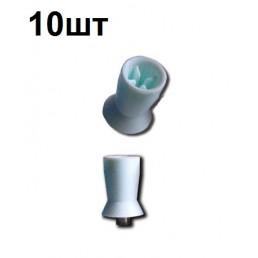 Щетка-резинка для полировки (4 перепонки)  (10шт)
