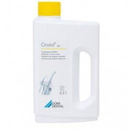 Оротол плюс (2,5л жидкость) для обработки аспирационных систем всех видов DURR Dental