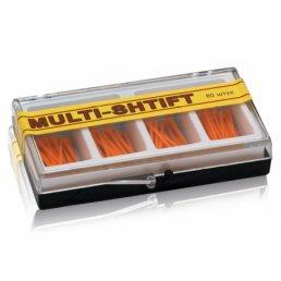 Мульти Штифт Оранж (1,5мм х23мм) (80шт) -беззольные штифты Рудент