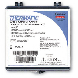 Термафил 25 мм №80 (6 шт/уп) Обтураторы из гуттаперчи, Dentsply (Termafil)