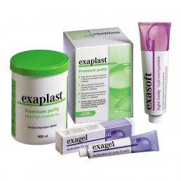 Экзапласт Набор - С-силиконовая слепочная масса Detax (Exaplast)
