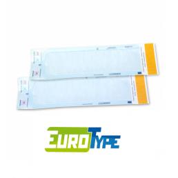 Пакеты для стерилизации ЕВРОТАЙП  70мм/260мм (уп 200шт)  самозапечатывающиеся (бумага/пленка)