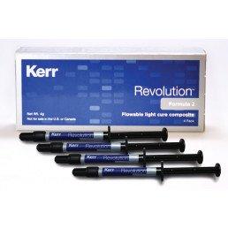 Революшн Набор (4шпр х 1гр) 1 очень светлый, 1 оттенок режущего края, 1 десневой и 1 дентин белый, KERR