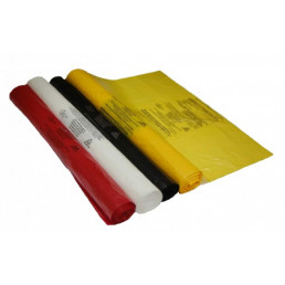 Пакет для медотходов класс Б(Желтый) 120л, 15мкн (уп 100шт)
