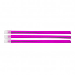 Слюноотсосы со съемным колпачком, Розовые (100шт) 150мм, ASA Dental (Blossom)
