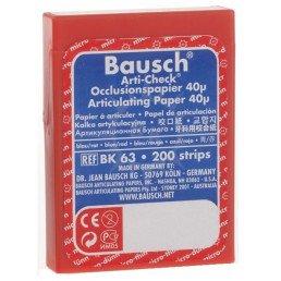 Копирка бумага BAUSH 40мик. ВК63 прямая красно/синяя (200листов)