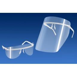 Экран защитный ПРЕМИУМ (очки + 5 экранов +5 щиктво для глаз) Кристидент