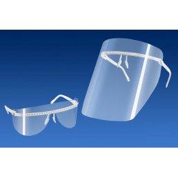 Экран защитный ПРЕМИУМ (очки + 5 экранов +5 щитков для глаз) Кристидент