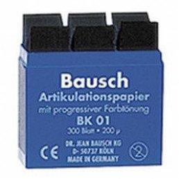 Копирка бумага BAUSH 200мик. ВК01 прямая синяя (300листов)