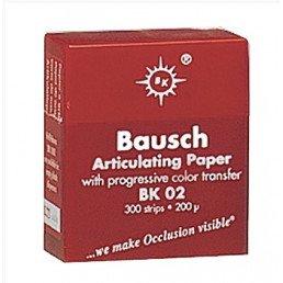 Копирка бумага BAUSH 200мик. ВК02 прямая красная (300листов)