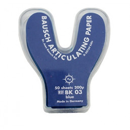 Копирка бумага BAUSH 200мик. ВК03 подкова синяя (50листов)