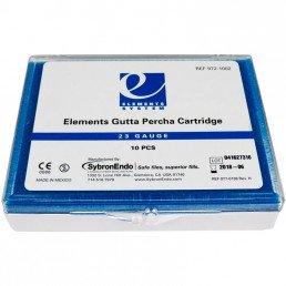Гуттаперча в картриджах 23GA (10шт) средняя вязкость, KERR (Elements Gutta Percha Cartridge)