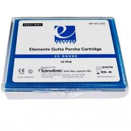 Гуттаперча в картриджах  Heavy 23GA (10шт) высокая вязкость, KERR (Elements Gutta Percha Cartridge)