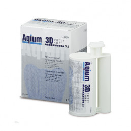 Aqium 3D патти софт (2*380мл) А-силикон MUELLER-OMICRON (Aqium 3D PUTTY SOFT)