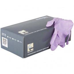 Перчатки латекс 100шт, Лиловый, Monoart, XS(5-6) Euronda