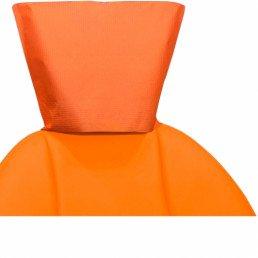 Чехлы для подголовников 33x26,5(ШхВ) оранжевые(100шт)  Кристидент