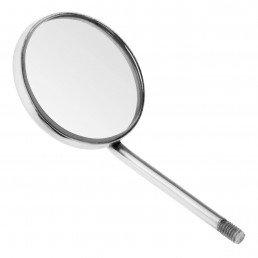 23-4 Зеркало стоматологическое, увеличивающее, №5, 24 мм, 12 штук в упаковке