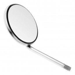 23-6 Зеркало стоматологическое, родий, №5, 24 мм, 12 шт/уп