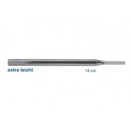 23-8A Ручка для зеркала шестигранная, полая, сталь, 14 см