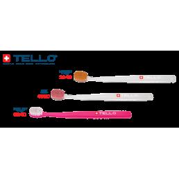 Зубная щетка Brush medium 3940 Adults (3 шт) Tello (Trio)