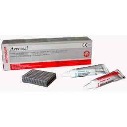 Акросил (База 8,5гр кат 9,5гр+блокнот) для пломбирования каналов Септодонт
