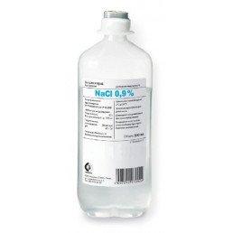 Физраствор - Натрия хлорид  р-р 0,9% (контейнер п/э 500 мл) Гематек