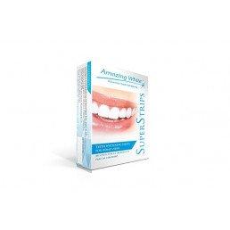 АмейзингВайт SuperStrips (28 шт) Полоски для отбеливания чувствительных зубов, Amazing White