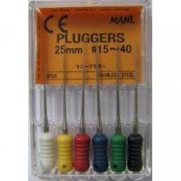 Плагер 25 мм №40  (6 шт/уп) MANI (pluggers)