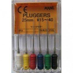 Плагер 25мм ассорти №15-40  (уп 6шт) (pluggers)