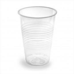 Стакан пластиковый прозрачный 180мл (100шт/уп)
