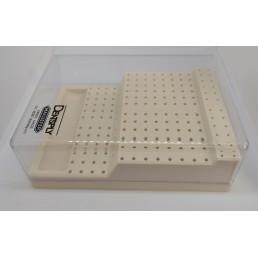Подставка под Боры, пластик, не автоклав, на 168шт.(FG24, HP48, RA96)  Майлифер D022400000000