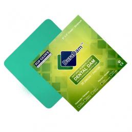 Листы для раббер дам, Зеленые средние, DuraDam (36 шт) DuraMedical