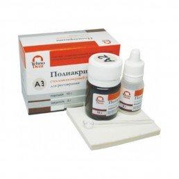 Полиакрилин для реставраций А3 (10гр+8мл) пломбировочный цемент Технодент