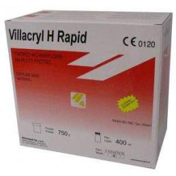 Виллакрил Н рапид (750 г + 400 мл) Цвет V4=розовый с прожилками, базисная пластмасса для ускоренной горячей полимеризации, Zhermack
