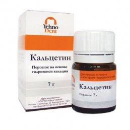 Кальцетин порошок (7 г) на основе гидроокиси кальция Технодент