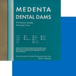 Листы для раббер дам, Синие средние, Medenta (36 шт)