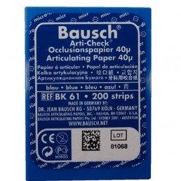 Копирка бумага BAUSH 40мик. BK61 прямая синяя (200листов)