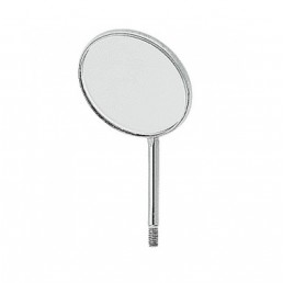 Зеркало №4 стомат. НЕ увелич., 22мм (1шт) Англия