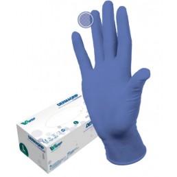 Перчатки нитрил, 200шт,  Сиреневые DERMAGRIP Ultra LS, M(7-8) Дермагрип