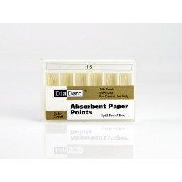 Штифты бумажные DiaDent 02 №15 (200шт)