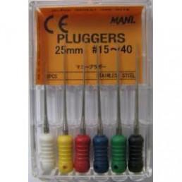 Плагер 25 мм №15  (6 шт/уп) MANI (pluggers)