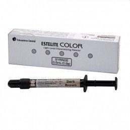 Эстелайт Колор, цвет DBR (1шпр*0,9г) Жидкотекучий композитный материал Tokuyama (Estelite Color)