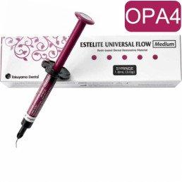 Эстелайт Юниверсал ФЛОУ Медиум цвет OPA4 (1шпр*3гр/1.8мл) Tokuyama Dental