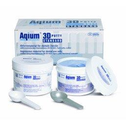 Aqium 3D патти стандарт набор (2*300мл+2*50мл)  А-силикон MUELLER-OMICRON (Aqium 3D PUTTY STANDART INTRO-SET)