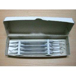 Набор инструментов для снятия зубных отложений (4 инструмента) (ММИЗ)