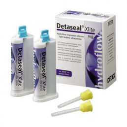Детасил Гидрофлоу Xlite regular set (2х50мл) корр. материал А-силикон, DETAX (Detaseal Hydroflow)