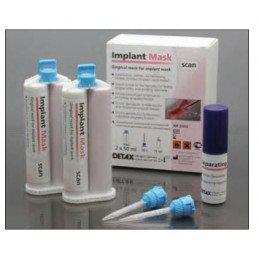 Имплант маск (2х50мл) силикон для десневых масок DETAX (Implant Mask )
