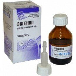 Эвгенол (25 мл) Для антисептической обработки корневых каналов, ВладМиВа